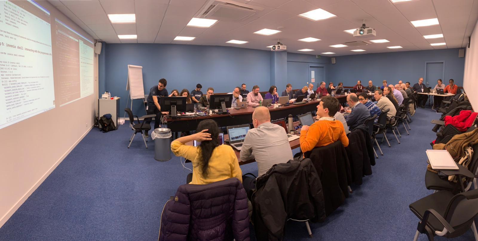 Invenio v3 Bootcamp 参加報告